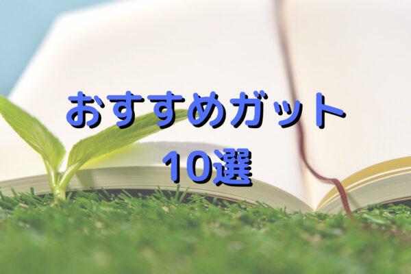 【2021年最新版】おすすめのガット10選